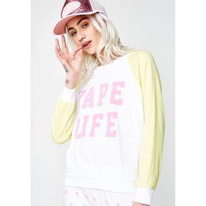 NWT Wildfox Vape Life Sweatshirt
